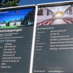 Eidsvollsbygningen | Entreprenørskilt