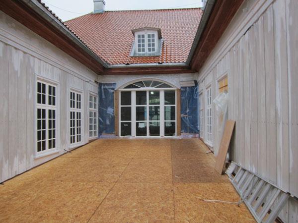 Restaurering av Rikssalvinduet i Eidsvollsbygningen
